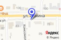 Схема проезда до компании Ф ПОЧТА РОССИИ в Кырене
