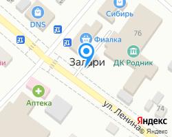 Схема местоположения почтового отделения 666328