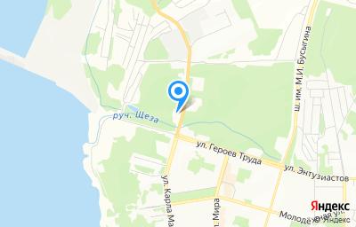 Местоположение на карте пункта техосмотра по адресу Иркутская обл, г Усть-Илимск, ш Усть-Илимское, д 1А