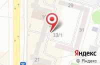 Схема проезда до компании Тайга-Сервис в Усть-Илимске