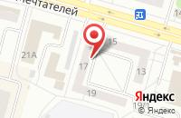 Схема проезда до компании Леспром в Усть-Илимске