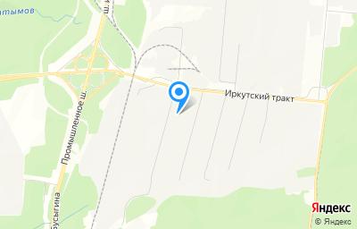 Местоположение на карте пункта техосмотра по адресу Иркутская обл, г Усть-Илимск, тер Промплощадка УИ ЛПК