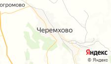Отели города Черемхово на карте