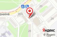 Схема проезда до компании Рубеж в Усолье-Сибирском