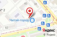 Схема проезда до компании Пресс-А в Усолье-Сибирском
