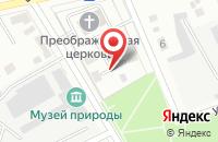 Схема проезда до компании Родина в Усолье-Сибирском