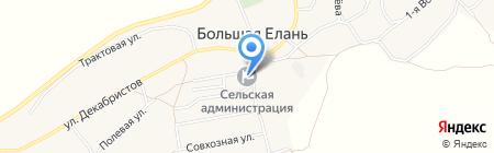 Администрация Большееланского муниципального образования Иркутской области на карте Большой Елани