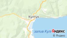 Гостиницы города Култук на карте