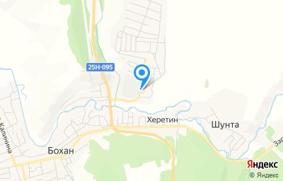 Местоположение на карте пункта техосмотра по адресу Иркутская обл, п Бохан, ул Карла Маркса, д 2