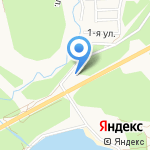 Мебель Холл на карте Ангарска