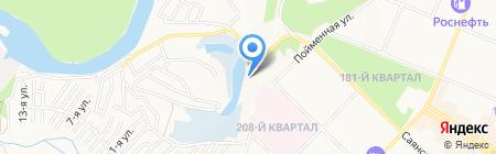 Кураж на карте Ангарска