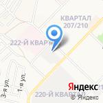 АНГАРСК на карте Ангарска