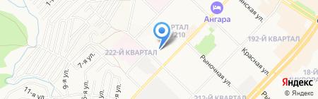 МК-Транс на карте Ангарска