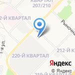 Мелодия Ольхона на карте Ангарска