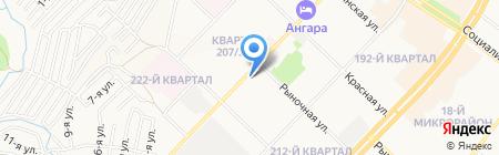 ОНИКС на карте Ангарска