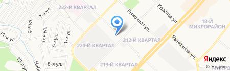 Православная школа во имя Святой Троицы на карте Ангарска