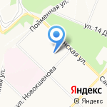 Ангарский лицей №2 на карте Ангарска