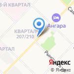 Магазин женской одежды и бижутерии на карте Ангарска
