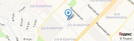 Детский сад №7 на карте Ангарска