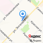 Харбин на карте Ангарска