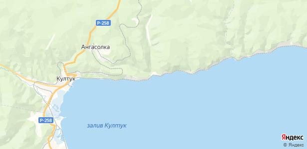 Ангасольская на карте