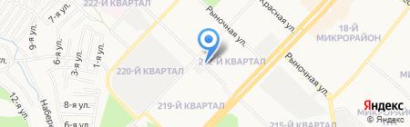 Сфера на карте Ангарска