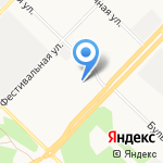 Пульсар на карте Ангарска