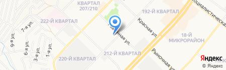 Профиль АНО на карте Ангарска