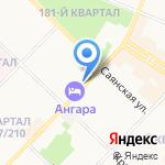 Управление МВД России по г. Ангарску на карте Ангарска