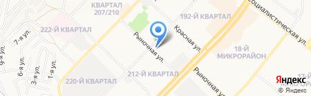 Центр отдыха на карте Ангарска