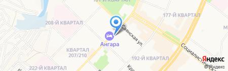 Магазин разливного пива на карте Ангарска
