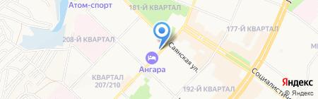 Спорт Легион на карте Ангарска