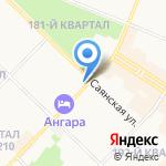 АКадемия детства на карте Ангарска