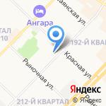 ЖЭУ №3 на карте Ангарска