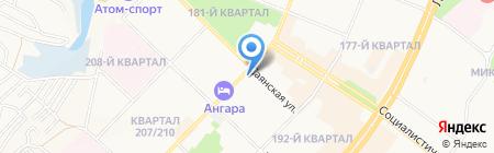 Классика на карте Ангарска