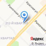 Альфа-банк на карте Ангарска