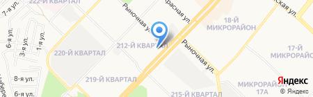 Художественная школа №2 на карте Ангарска