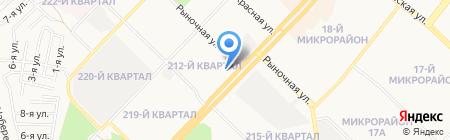 АЛЬФА-БАНK на карте Ангарска