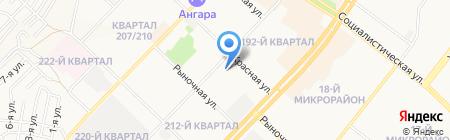 Черная жемчужина на карте Ангарска