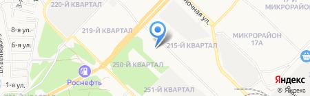 Торговая фирма на карте Ангарска