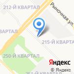 Автомастер на карте Ангарска
