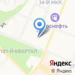 Детский сад №31 на карте Ангарска