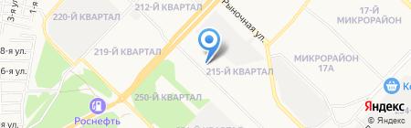 Оптовая компания на карте Ангарска