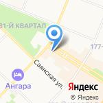 Нирвана на карте Ангарска