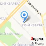 Вертикаль на карте Ангарска