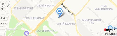 SPAR на карте Ангарска