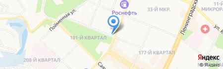 Аптечный центр на карте Ангарска