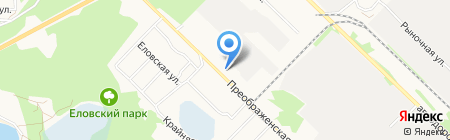 Магазин продуктов на карте Ангарска