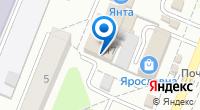 Компания ДОСТ на карте