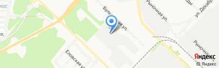 Оптово-розничная компания на карте Ангарска